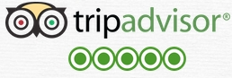 voted five stars on tripadvisor